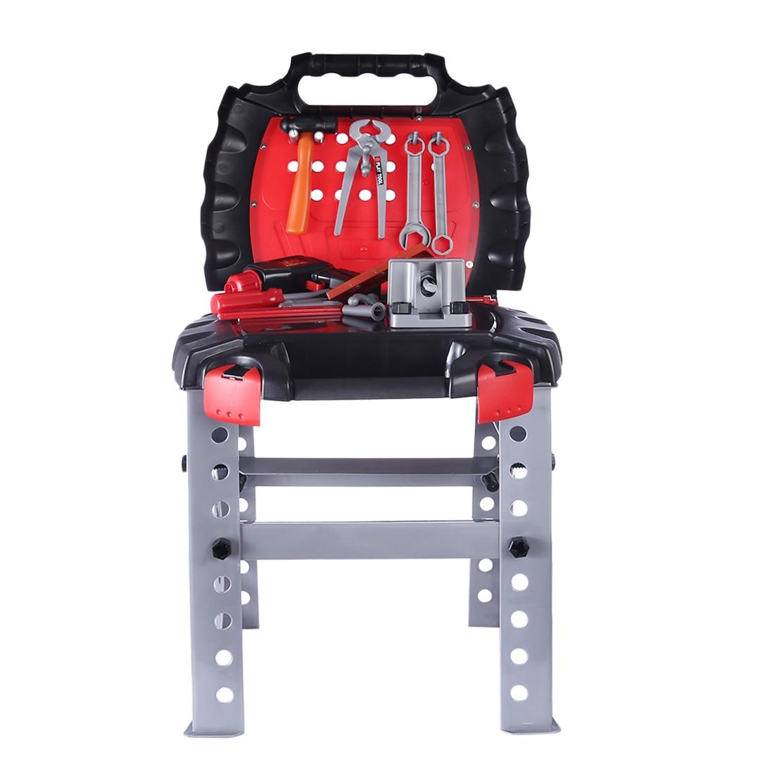 цены на Surwish 44Pcs Children Pretend Play Toys Electric Tool Set Educational Gift Set  в интернет-магазинах