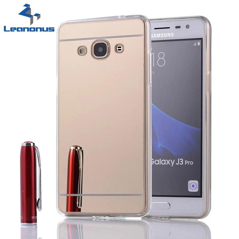 Makeup Mirror Back Cover Phone Case For Samsung Galaxy J1mini J1 ACE J2/J5/J7 Prime J3 J3Pro