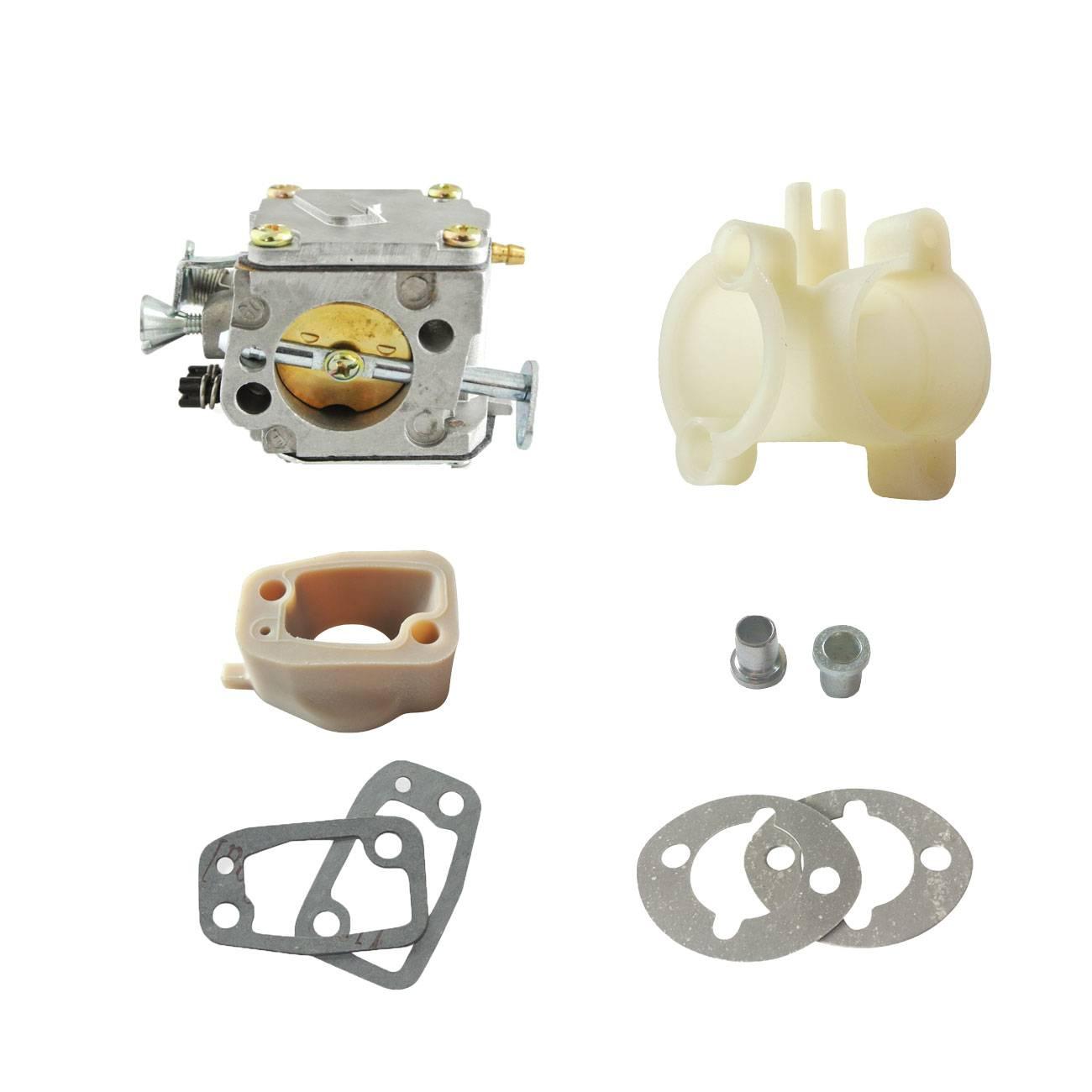 Carburetor and Intake Gaskets Fit HUSQVARNA 61 266 268 272 Chainsaw 20mmCarburetor and Intake Gaskets Fit HUSQVARNA 61 266 268 272 Chainsaw 20mm