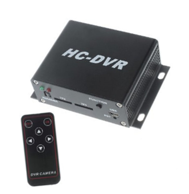 HD Dual  TF Card DVR For CCTV Camera With HDMI Output