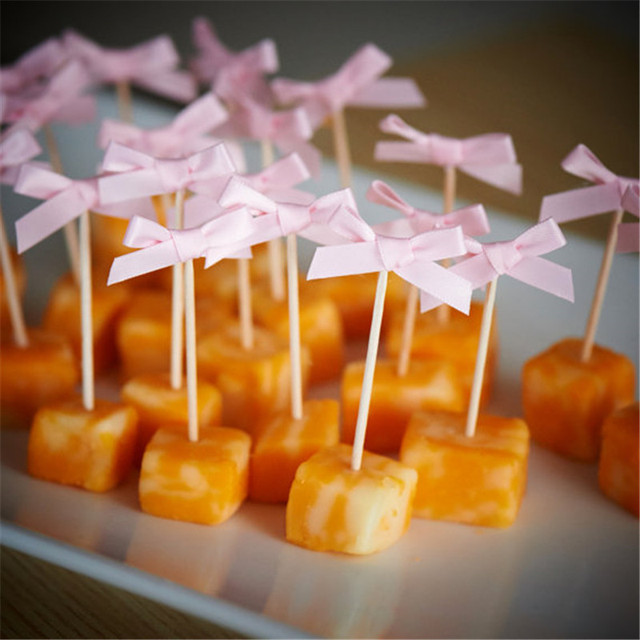 Small Bow Design Toppers 12 pcs/lot
