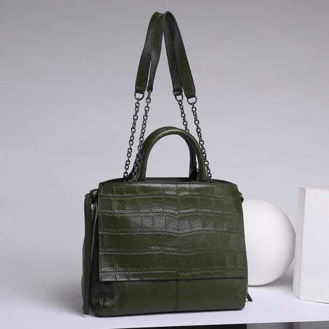 MIESATI Real Cow Leather Women Messenger Bags Ladies HandBags Genuine Leather bags Totes Hign Quality Designer Luxury Brand Bag