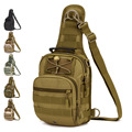 Outdoor Tactical Camo Waterproof man chest Sport Handbag Shoulder bag Men Camping multifunction Crossbody Backpack Messenger Bag