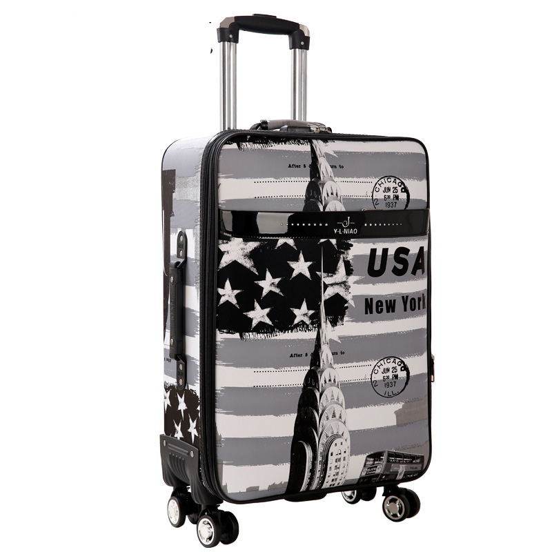 20 Voyage Spinner 26 Report Roulettes Style Duffle Sur Inch 24 Inch Inch 28 Roue Bagages 20 Valise Inch Trolley Beasumore Cabine À Inch Femmes D'école Sac Anglo Inch 22 américaine qz0xSSfY