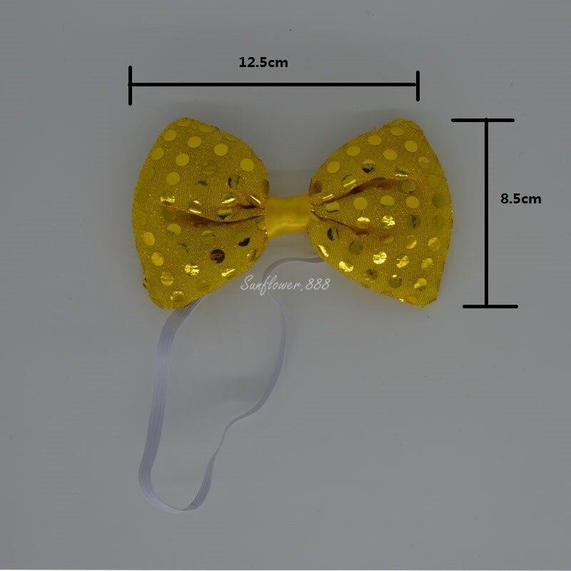 led qalstuk Kişi Qadın Parıldayan Yüngül Yamaq Necktie LED - Şənlik aksesuarları - Fotoqrafiya 5