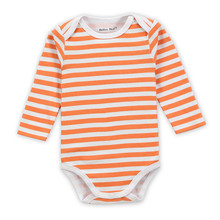1 Piece Cotton Style Baby Girl Boy Winter Clothes New Born Body Baby Ropa Striped Next Baby Bodysuit r004