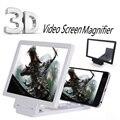 Teléfono móvil magnificador de pantalla 3d pantalla de vídeo amplificador de pantalla ampliada expander sostenedor del soporte para iphone 6 6 s plus samsung todo