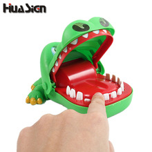 Crocodile Jokes Bite Finger Game Joke Funny Crocodile Toy Parent-Child Family Game Birthday And Christmas Gift For Kid(China)