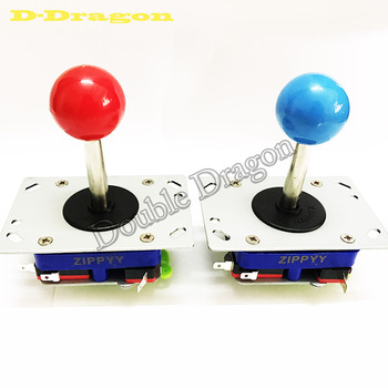 10Pcs/lot Classic 2/4/8 Way Arcade Stick PacMan Game Ball Long/Short Zippy Joystick 10 Colors Ball Top Available