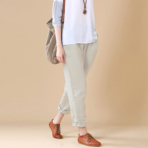 Popular Loose Linen Pants-Buy Cheap Loose Linen Pants lots from ...