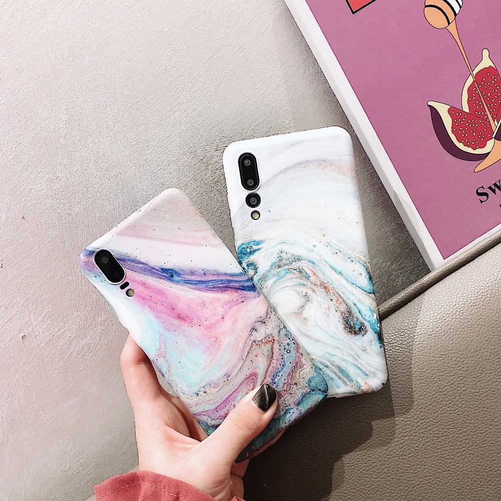 Huawei P20 P20 Pro P20 Lite Marble Case