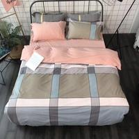 Quality Single Double Queen Duvet Cover Quilt Cover King Size Duvet Cover Blanket Cover 220*240cm Duvet Set Free Shipping