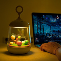 Hiliwon Birdcage LED Night Light USB Port Rechargeable Touch Sensor Table Bird Light Portable Night Lamp For Children Baby