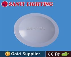 Wysokiej jakości 30 w 60 sztuk SMD5730 Epistar led chip 0.5 w ciepłe białe led lampa sufitowa w Oświetlenie sufitowe od Lampy i oświetlenie na