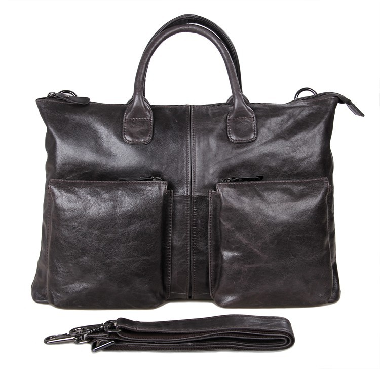 7241J Free Shipping Genuine Leather Leather Handbags Fit 17 Inch Laptop For Men Business bag australien карта