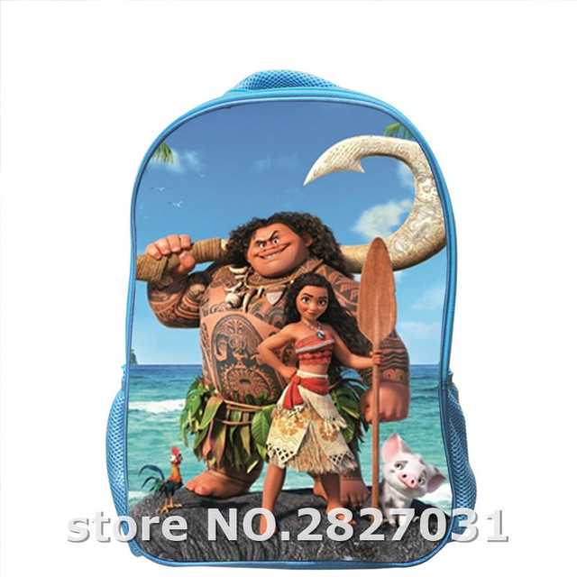 11592da18ee Custom Made Sea adventure Maui Backpack Shoulderbag Pencil Bag Boys Girls  School Animal Women Men Sonic UT Children Lunch Box