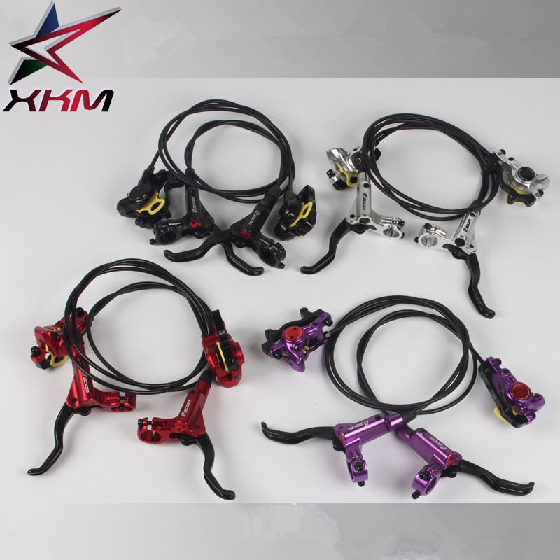 ZOOM bike brake HB-875 Bicycle Brake Mtb Hydraulic Brake Kit 750/1350 mm Bicycle Disc Brake Bike Parts shimano slx bl m7000 m675 hydraulic disc brake lever left right brake caliper mtb bicycle parts