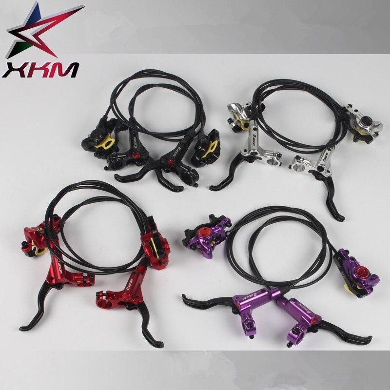 ZOOM vélo frein HB-875 vélo frein vtt hydraulique Kit de frein 750/1350mm vélo disque frein pièces de vélo
