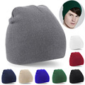 Women Mens Knitted Winter Warm Oversized Ski Slouch Hat Cap Baggy Beanies Unisex