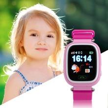 Niños Estudiante Relojes de Pantalla Táctil Inteligente de Posicionamiento GPS Phone Call WiFi Se Caen Impermeable Reloj Q90