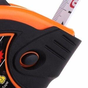 Image 5 - 3m 5m 7.5m ruban à mesurer rétractable 3 Way Lock métrique en caoutchouc ruban à mesurer règle en acier ruban règle