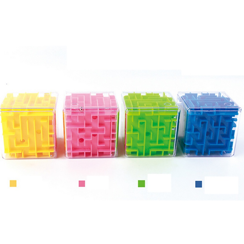 3D Maze Magic Cube Puzzle Speed Cube Puzzle Game Labyrinth Ball Toys Magical Maze Ball Games Educational Funny Toys