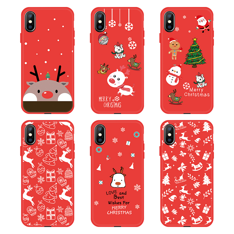 Christmas Phone Case Iphone Xr.Us 0 54 40 Off 2019 Christmas Case For Iphone Xr Xs Max Winner Soft Tpu Phone Case For Iphone X 8 7 6 6s Plus Snowman Pattern Phone Back Cover In