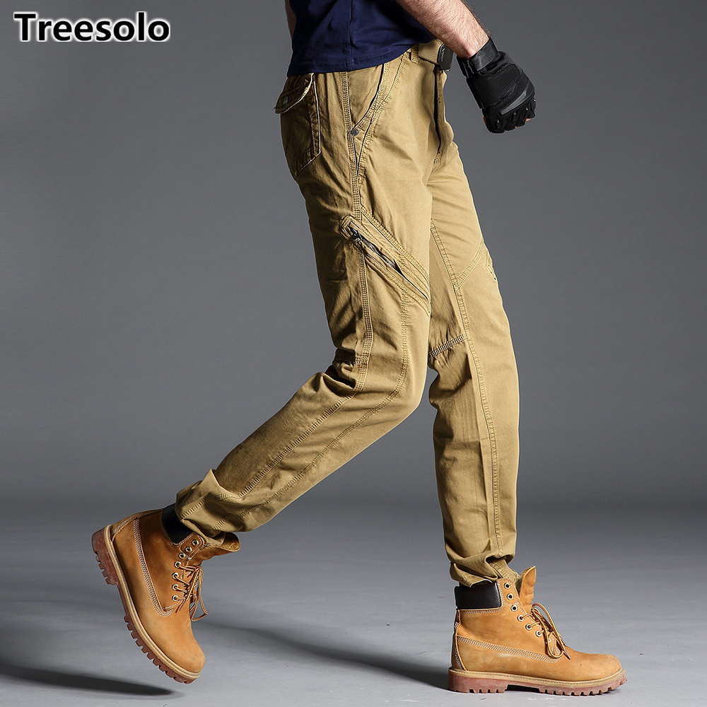 Mutter & Kinder 2019 Cargo Pants Men Brand Clothing High Quality Military Trousers Straight Casual Trousers For Men Outdoors Track Pants 893 SorgfäLtige Berechnung Und Strikte Budgetierung