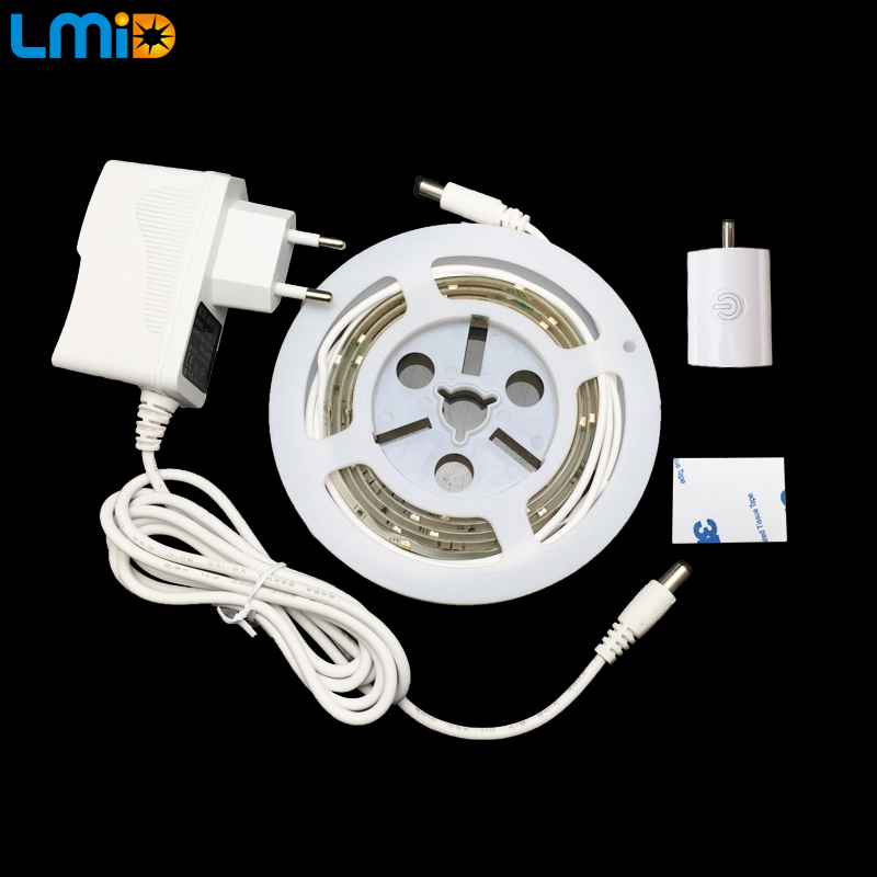 Lmid SMD2835 LED Touch Sensor Strip Lighting Aktiverad Skåp Light - LED-belysning
