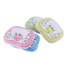 OUTAD 1 PCS Newborn Infant Soft Neck Support Print Bear Head Shape Baby Shaping Pillow 100% Top Good