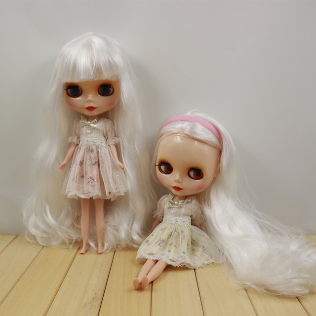 ICY Neo Blythe Doll White Hair Regular Body