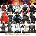1 unid figuras de star wars diy negro sombra stormtroopers kallus r5d4 robot conde dooku darth vader darth maul bloques de construcción niños