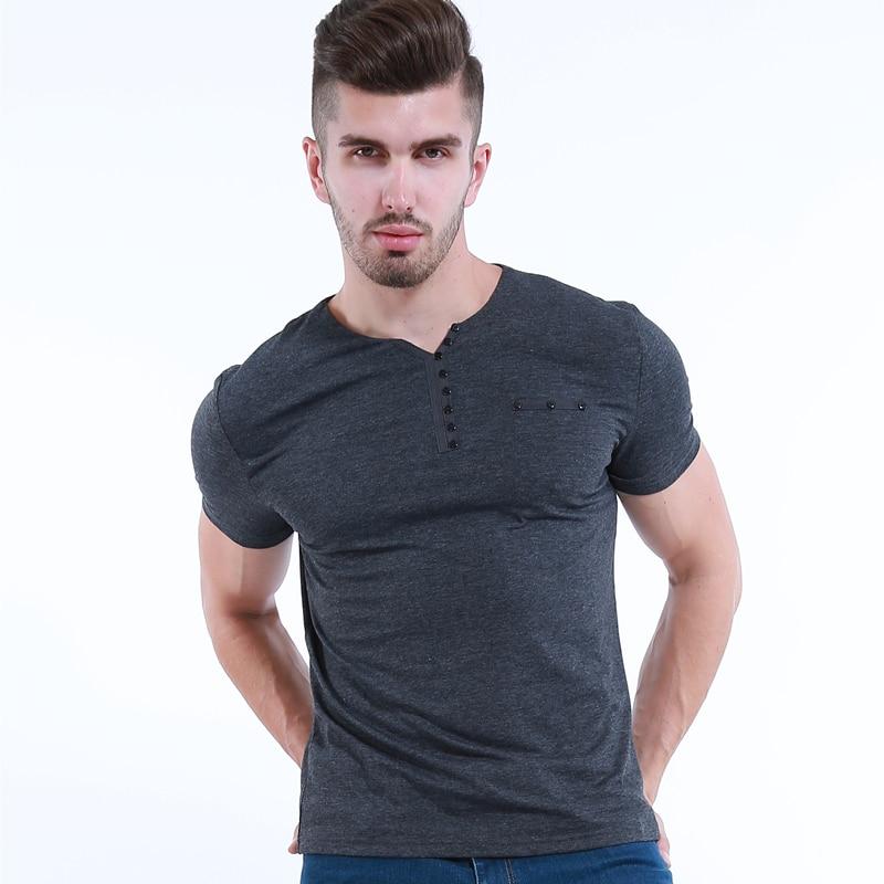 Liseaven Mens T Shirt Slim Fit Crew- ի պարանոցի - Տղամարդկանց հագուստ - Լուսանկար 3
