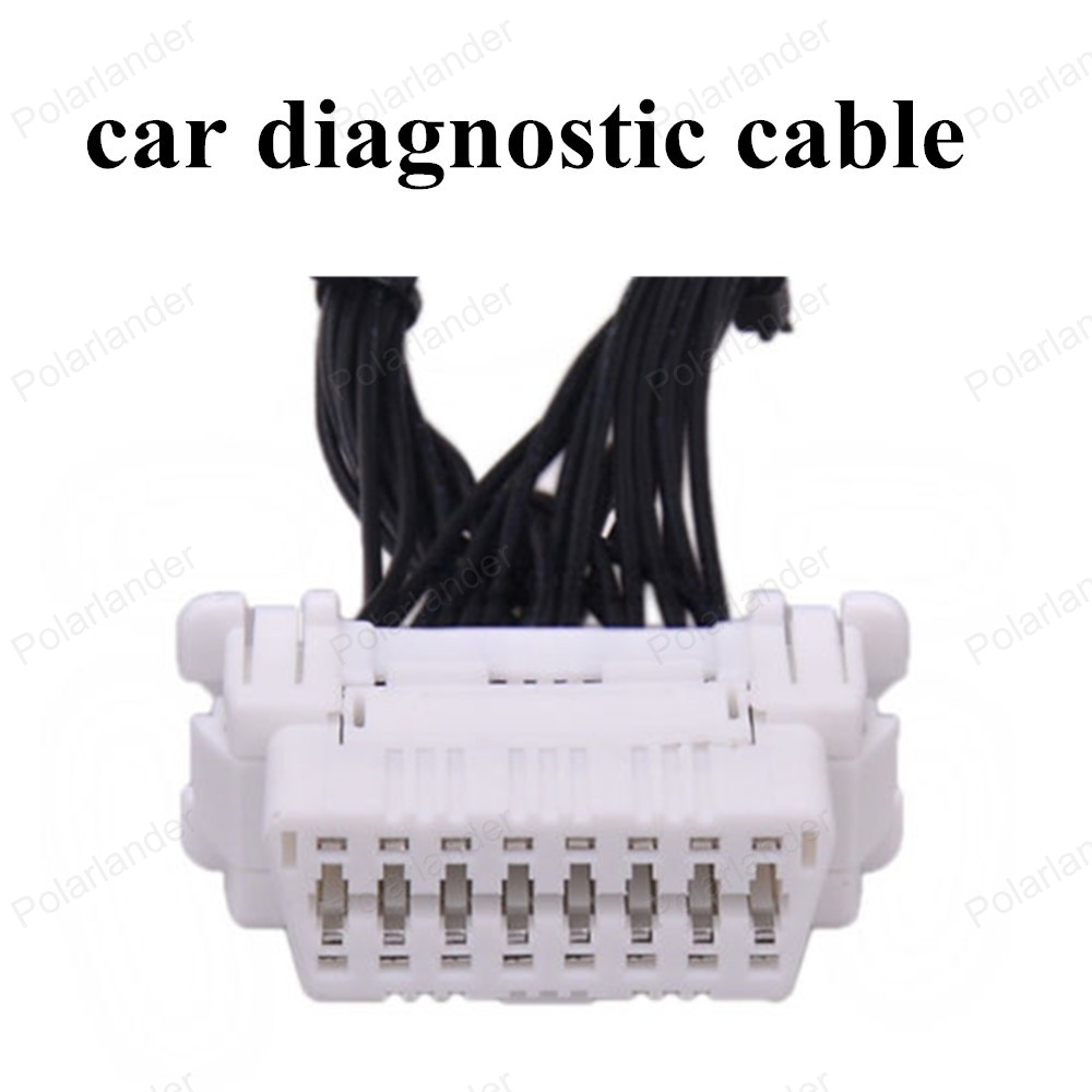 hot sell OBDII Extension Diagnostic Cable with a 16 pin socket Male to Female Adapter Connector
