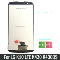 100% Tested New Replacement Parts LCDs Display For LG K10 LTE K430 K430DS K420N 420N (No IC) LCD Touch Screen Digitizer Assembly