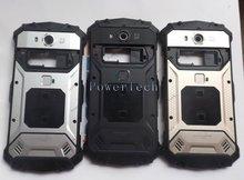 DOOGEE S60 pil bölmesi kapağı arka konut için parmak izi ile DOOGEE S60 cep telefonu orijinal parça