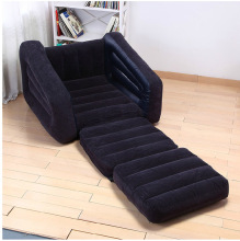 Deluxe Single folding inflatable sofa beanbag bed