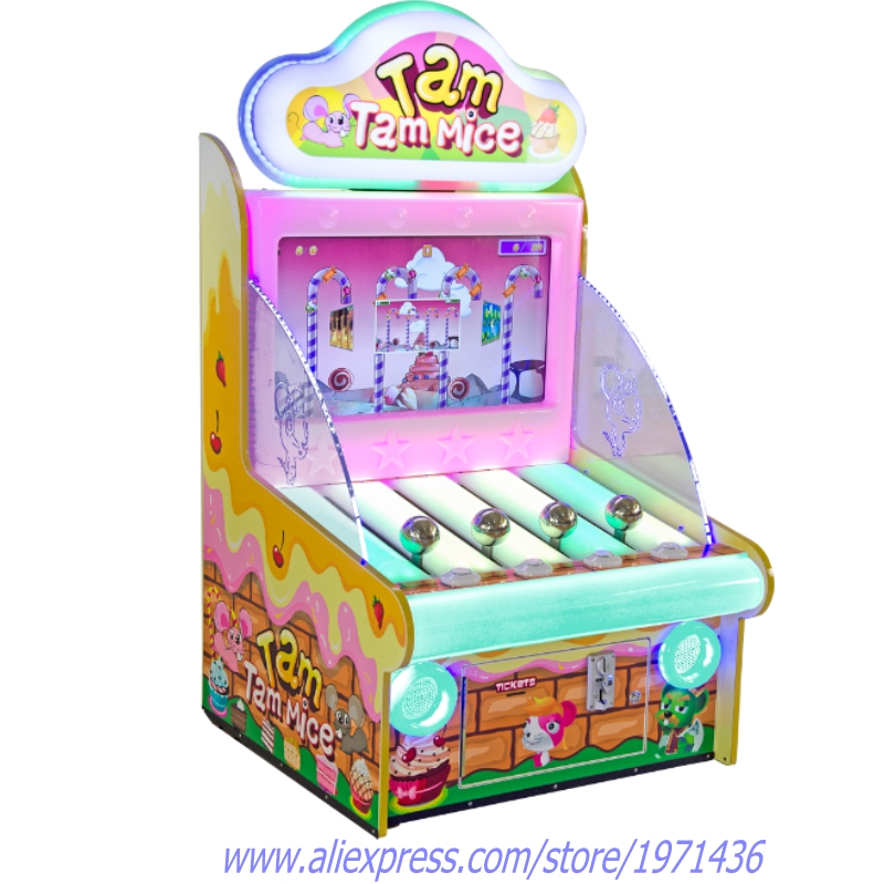 Mouse Climbing Tree Amusement Equipment Redemption Tickets Coin Operated Game Machine