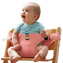 Baby Dining Chair Safety Belt Portable Seat Lunch Chair Seat Stretch Wrap Feeding Chair Harness baby Booster Seat baby booster seat high chair with storage bag portable safety anti slip kids dinner chair belt feeding plate table for toddlers