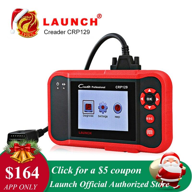 Lancement CRP129 CRP 129 Creader VIII 8 Lecteur de Code OBDII Diagnostic Outil ENG À ABS SRS EPB SAS de Service D'HUILE remet la lumière Scanner