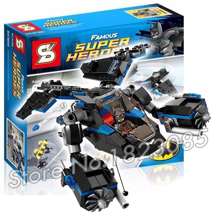 25Batman SY300 DC ComicsThe Bat vs Bane Tumbler Chase Model Building Bricks Minifigures Toy Compatible With Lego