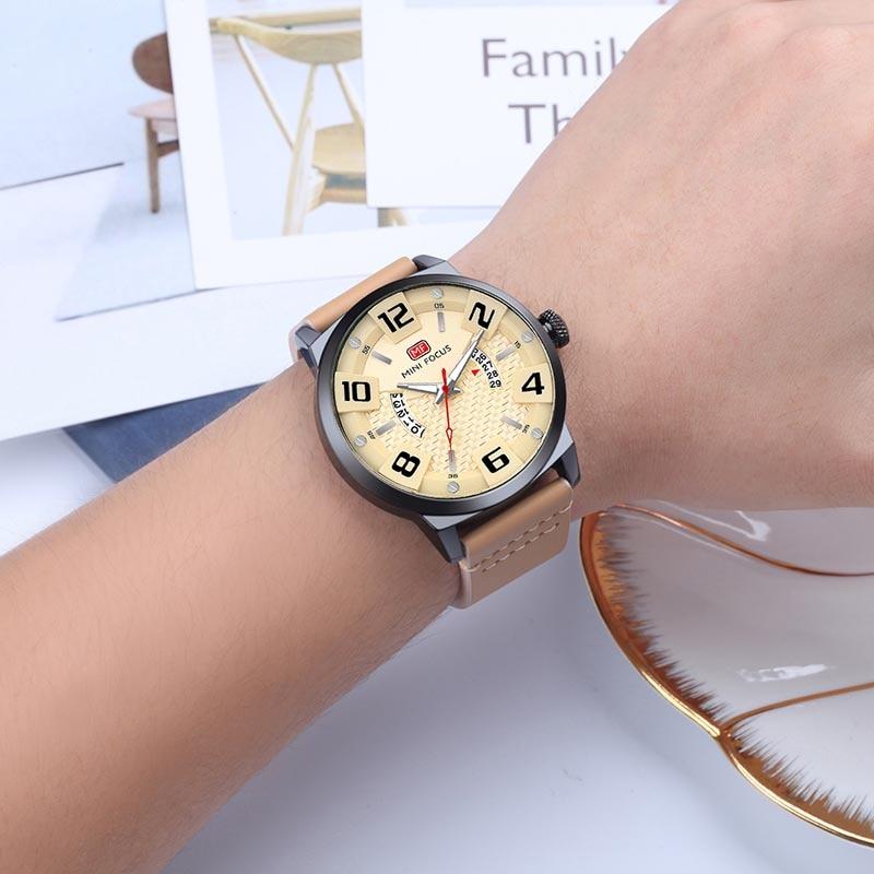 Luksusowa marka MINI FOCUS Mężczyźni Zegarki sportowe Męski zegar - Męskie zegarki - Zdjęcie 5
