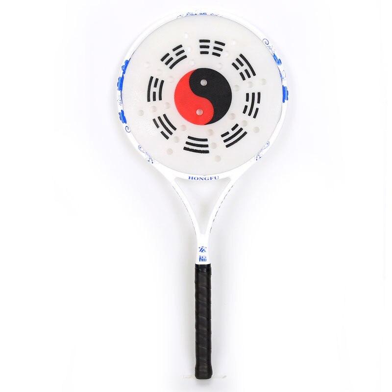 Poignée en carbone Tai Chi jeu de raquette à balle souple cadre en carbone ensembles de boules Rouli nouveau Design amélioré boules Rouli avec sac - 4
