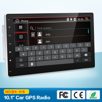 10 inch 4 Core 2 DIN universal Android 7.1 Car DVD GPS Radio Player Stereo Auto Radio Audio Head unit with wifi usb sd