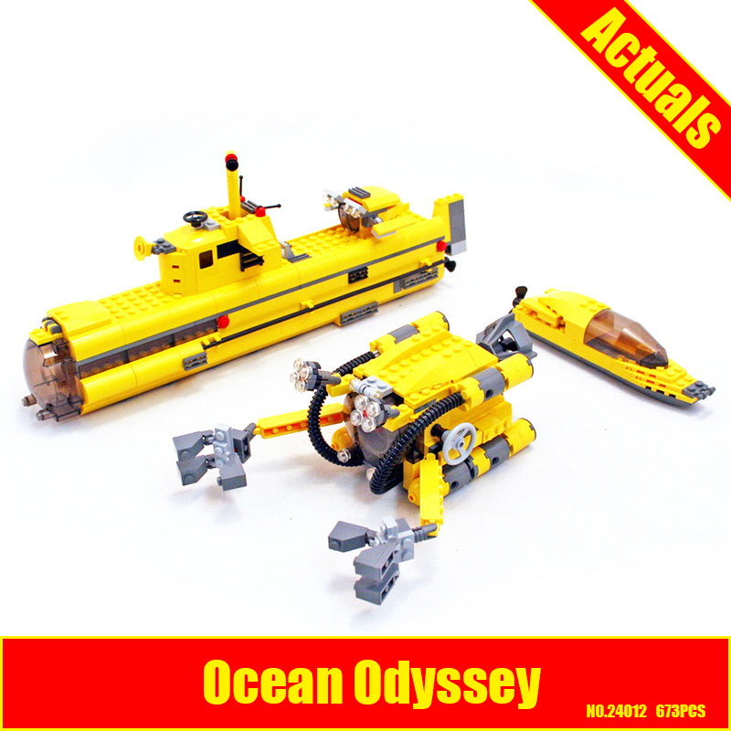 Lepin 24012 Creative The Underwater Explora Ship Set Funny Children Educational Building Blocks Bricks Plan Toys Model 4888 black pearl building blocks kaizi ky87010 pirates of the caribbean ship self locking bricks assembling toys 1184pcs set gift