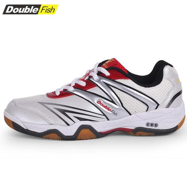 2017 Double Fish Table Tennis Shoes For Men And Women Flexible Professional Sneakers Ping Pong Equipment