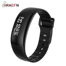Smart Bracelet A69 Smart band Heart rate monitor blood pressure Smart Wristband Fitness watch Call SMS Clock PK mi band 2 Miband