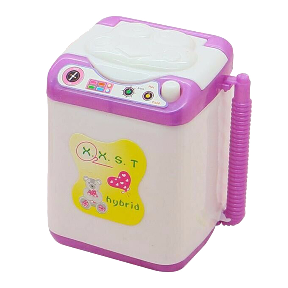2019 New Kids Washing Machine Pre School Play Toy Washer Washing Beauty Sponges