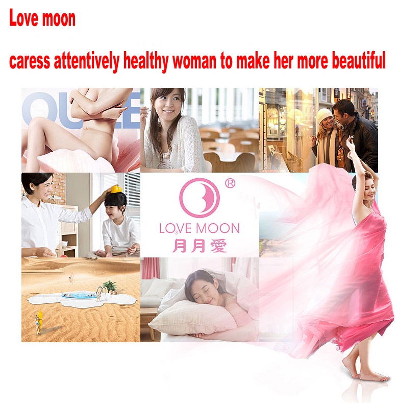 10 pack love moon anion sanitary pads 100% cotton anion pads winalite anion love moon strip panty liner feminine hygiene product 20