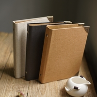 A5 sheet small photo album DIY craft scrapbook 7 inch thick paper notepad personality series menu